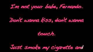 Lady gaga - alejandro karaoke instrumental