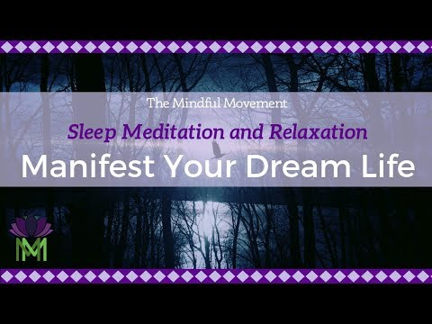 Manifest Your Dream Life / Sleep Meditation With Delta Waves / Mindful Movement