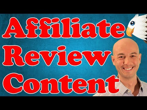 Affiliate Marketing Website Reviews Content with Doug Cunnington