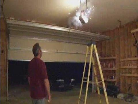 Garage Door Opener Fail catastrophic  YouTube