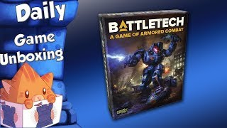 Daily Game Unboxing -  Battletech