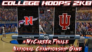 College Hoops 2k8 - MyCareer Finale - National Championship Game