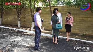 В рамках акции «Жизнь без слез» заасфальтировали территорию Центра дневного пребывания детей