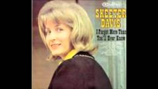 Download I CANT SEEM TO SAY GOODBYE---SKEETER DAVIS MP3 song and Music Video