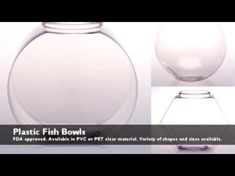 Plastic Fish Bowls