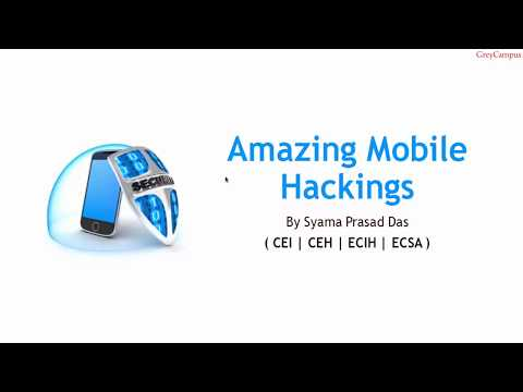 Amazing Mobile Hacking Tools & Techniques