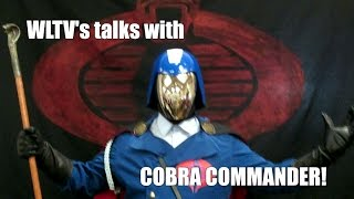 WLTV at the Central Valley Con 2016 with Cobra Commander