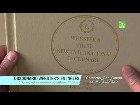 Websters Third New International Dictionary and Seven Language Dictionary