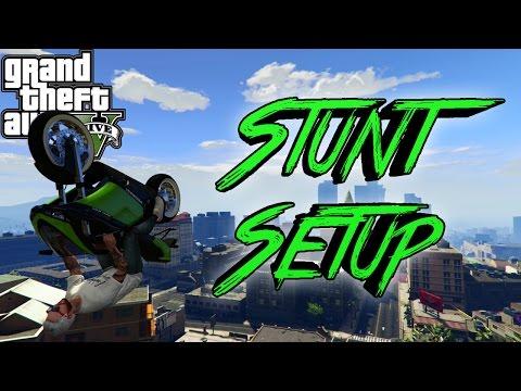GTA V Stunt Tutorial   Ep.4 How To Setup A Stunt!