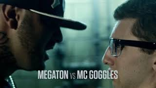 bodied rap battles  megaton vs mc goggles
