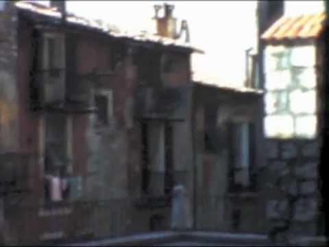 NICE (France) Le Vieux Nice (1959) Film D'amateur Kodachrome 8mm