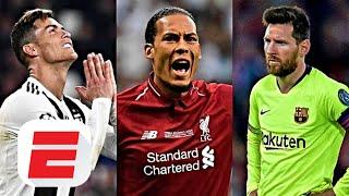 UEFA Player of the Year: Lionel Messi, Cristiano Ronaldo or Virgil van Dijk? | ESPN FC
