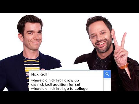 John Mulaney & Nick Kroll Answer the Web's Most Searched Questions  WIRED