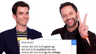 John Mulaney & Nick Kroll Answer the Web's Most Searched Questions | WIRED