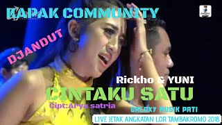 Galaxy Musik - Cintaku Satu - Kapak Community 2018