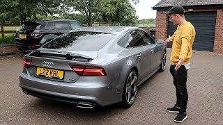 Collecting my Audi A7!
