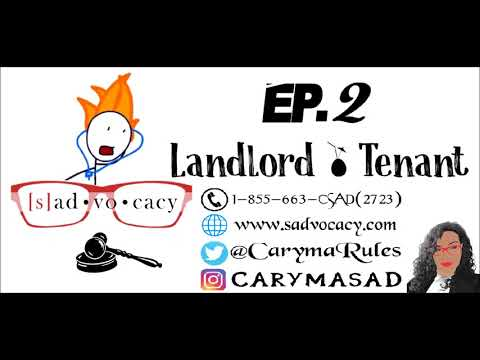 Toronto Lawyer Caryma Sa'd : Cool Your Head - Ep.2 (Landlord & Tenant)