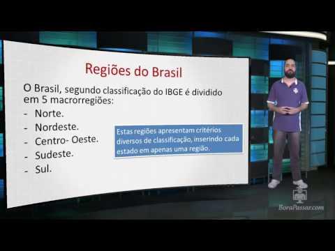 Geografia do Brasil- Regionalização. (Aula 01)