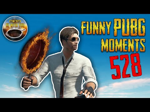 PUBG Funny Moments Clips Plays WTF #528 - MAY THE PAN BE WITH YOU (Playerunknown's Battlegrounds)
