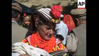 The Kalash Spring Festival is celebrated in Pakistan