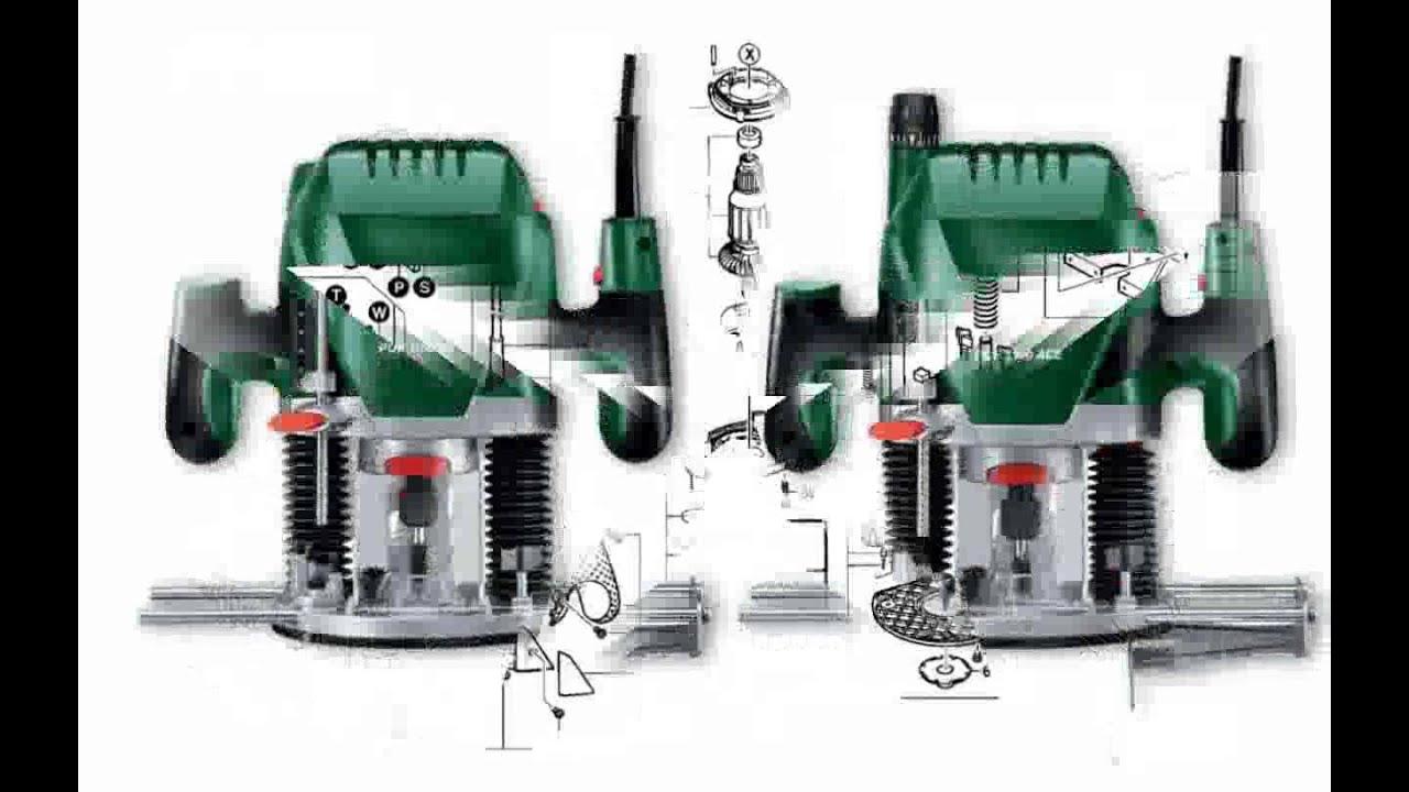 Bosch POF 1100 AE - YouTube