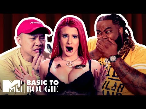 'Did You Say Bug Jerky?' ft. Justina Valentine | Basic to Bougie Season 3 | MTV