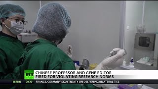 Chinese professor fired after creating first gene-edited baby
