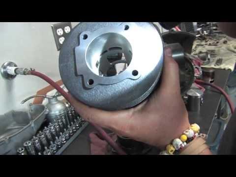 Rebuild a Vespa P125 Motor Part 2: Engine Overhaul & Reassembly