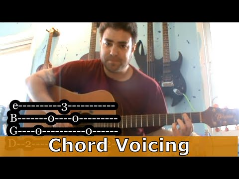Introduction To Chord Voicings - Willin' Riff (Beginner Guitar Tutorial)