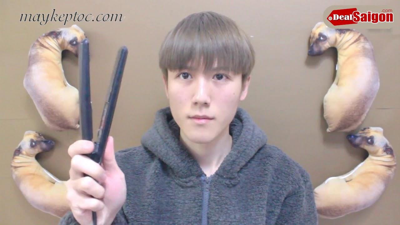 Hướng dẫn tạo kiểu tóc Nam tại nhà bằng máy kẹp tóc mini koria   Tổng quát những thông tin về mẫu tóc xoăn nam đẹp chính xác
