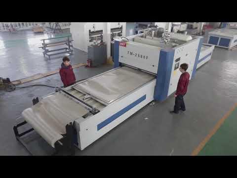 TM3000 Auto High Gloss Laminating Machine Vacuum Membrane ...