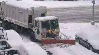 A Snow Plow - New York City Style thumbnail