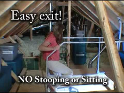 Make Your Attic Stairs Safer Youtube