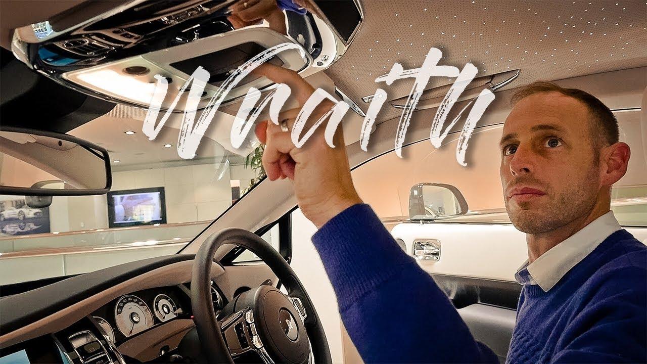 Rolls Royce Wraith - The driver's RR
