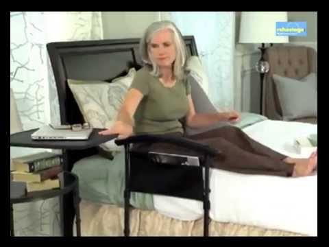 tavolo per letto, con supporto per trasferimento, comodo aiuto per ... - Tavolino Per Letto Con Rotelle
