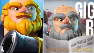 Clash Of Clans & Clash Royale troops after 50 years ft. Archer, Wizard, Valkyrie, Princess