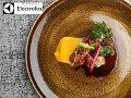 Michelin star chef Simon Hulstone creates scallop, duck, and cod recipes