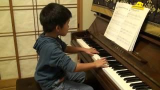 2010年11月8歳 繰り返しなしで弾いています。