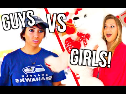 Guys Vs Girls Valentine's Day!