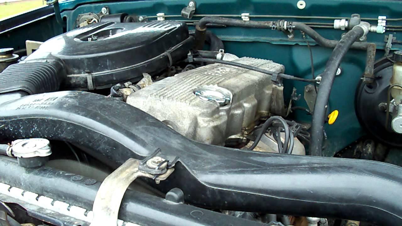Nissan Hardbody Engine Rattle