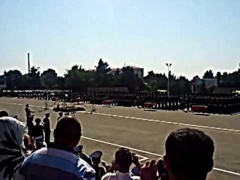 Gələcəyin peşəkar zabitləri Hərbi Lisey 14.10.2020