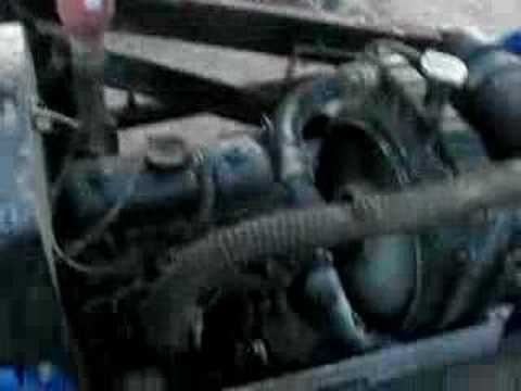 Mitsubishi MTE2000D Diesel Tractor.