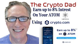 Earn Passive Income on Your Cosmos ATOM by Using the Crypto Earn Program from Crypto.com