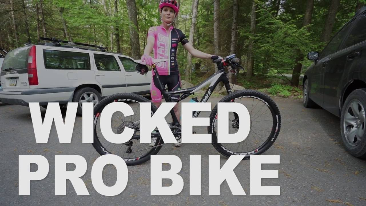 5152db5ac24 Wicked Pro Bike: Vicki Barclay's Cannondale Women's Scalpel Si Carbon