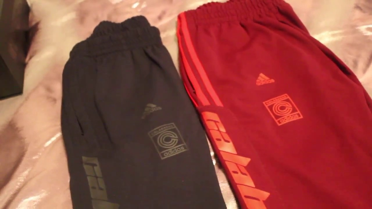 b29f61598fdf9 KANYE WEST CALABASAS TRACK PANTS REVIEW+SIZING COMPARISON - YouTube