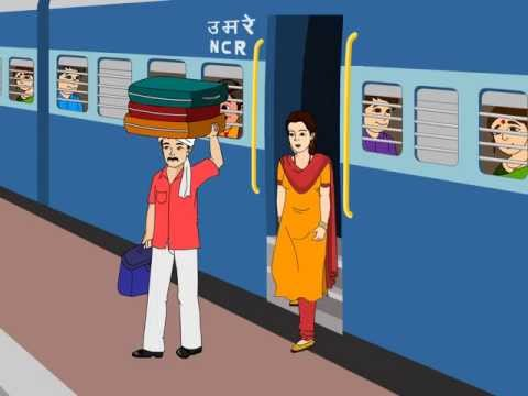 funny video indian railways