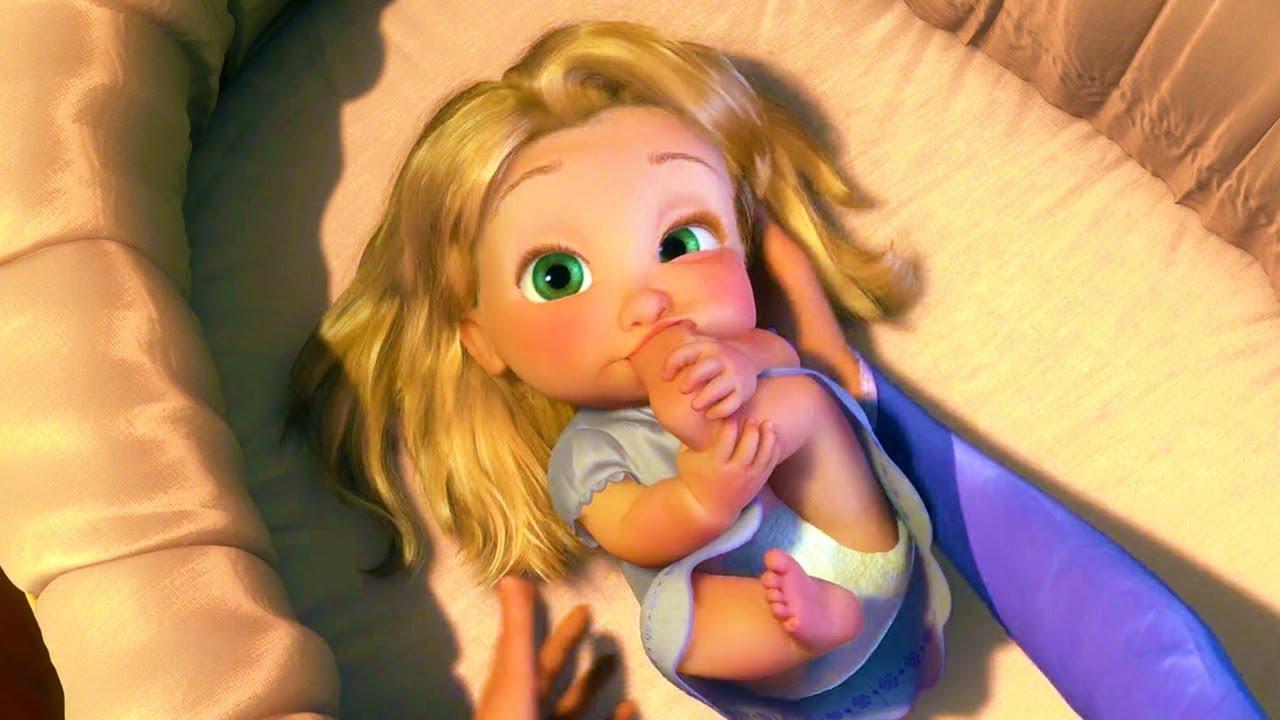 Tangled Rapunzel Best Scenes Youtube