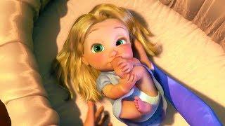 Tangled - Rapunzel Best Scenes