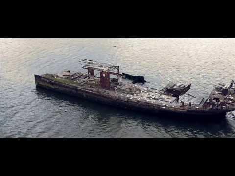 SS Ayrfield Shipwreck Homebush NSW By Drone