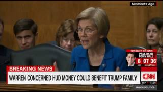 D.r Ben Carson Politely Puts Sen. Elizabeth Warren in Her Place While She Targets PEOTUS Trump